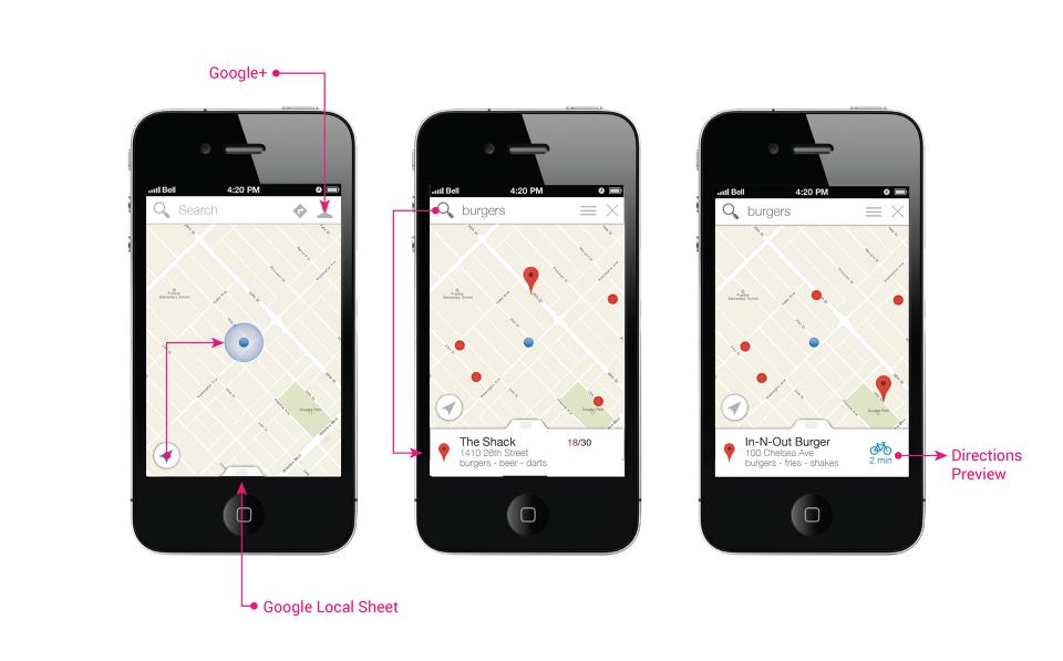 Google Maps for iOS - Kyle DeHovitz