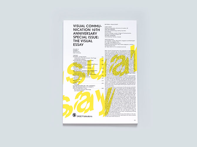 visual essay mariana nemer selected work the visual essay special edition of the academic journal visual communication published by sage publications at pony london