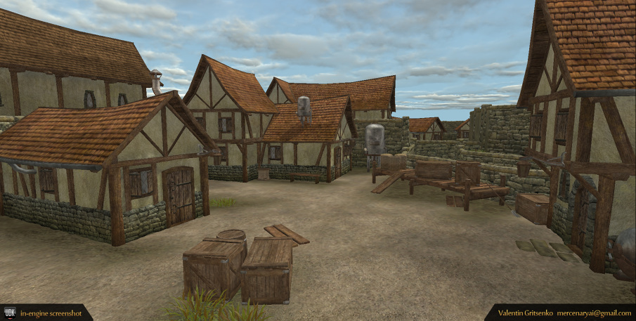 how to create a game environment